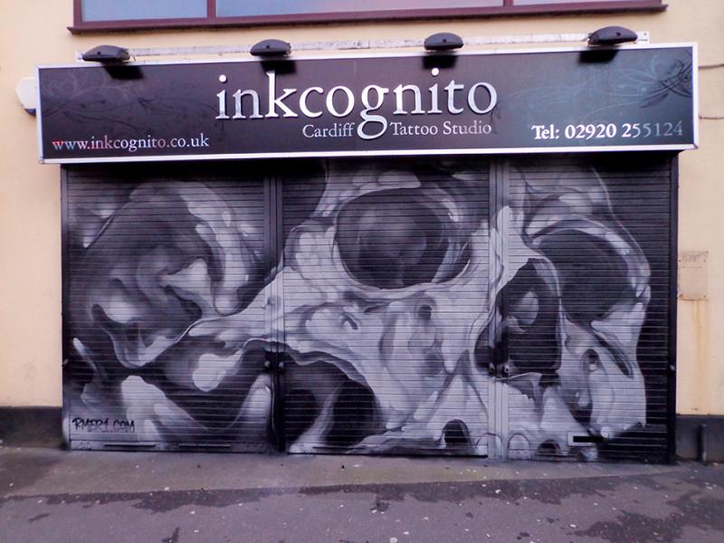 skullcamo-graffitiart-rmer1-shopshutter-mural