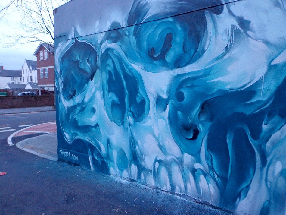 Liquid skull r mer graffiti artist mural artist for Call for mural artists 2014