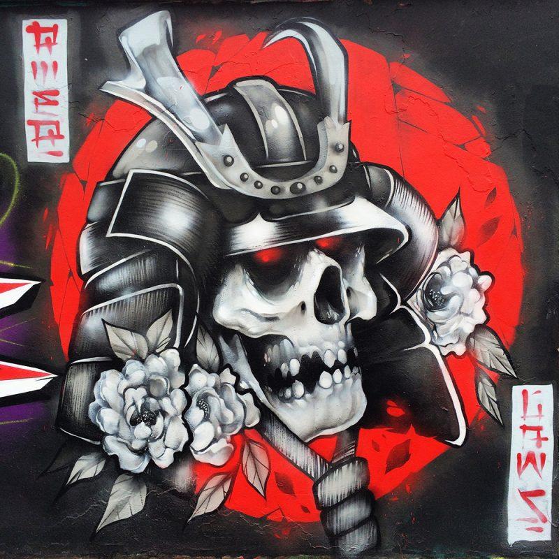 hoxe-kabuto-skull-wildstyle-piece-graffiti-art-mural-cardiff-3