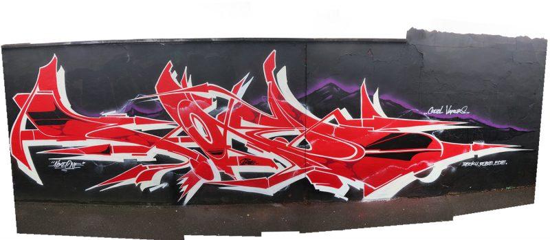 hoxe-kabuto-skull-wildstyle-piece-graffiti-art-mural-cardiff